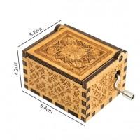 Lesena glasbena skrinjica - Različni modeli